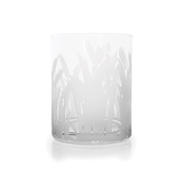 Marshlands Double Old Fashion Etched Glass