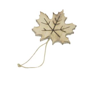 Medium Leaf Ornament