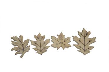 Driftwood Leaf Ornaments