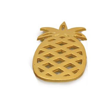 Gold Pineapple Trivet