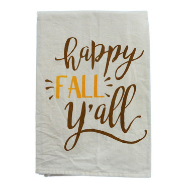 Happy Fall Yall Hand Towel
