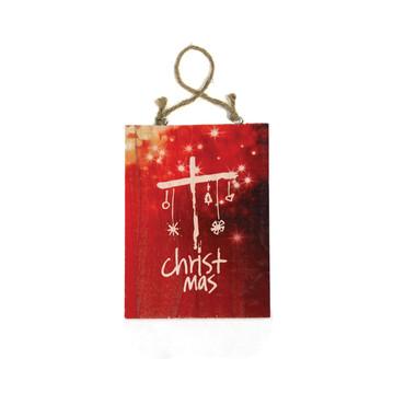 Reason for the Season Sm. Christmas Plaque w/Cord