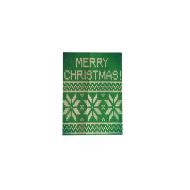 It's a Green! Christmas Sm. Wooden Plaque w/Cord