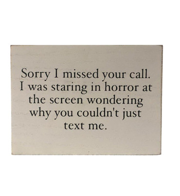 Please Just Text