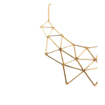 Golden Prism Necklace