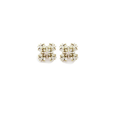 Blush Jewel Burst Earrings