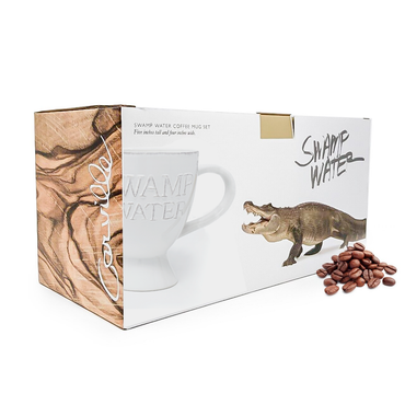 Swamp Water Coffee Mugs Set - Set/2