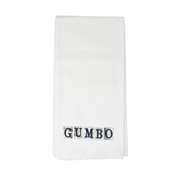 Gumbo Spanish Tiles Hand Towel