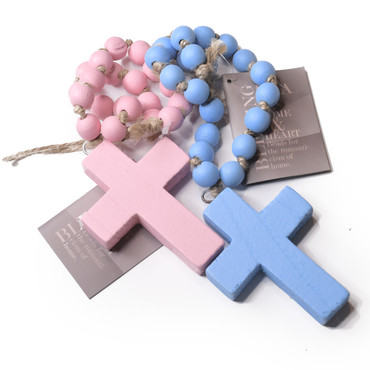 Blessing Beads - Children's (In Pink or Blue)