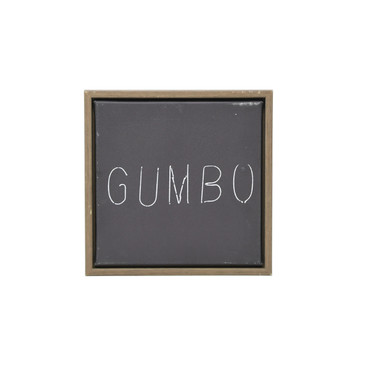 Gumbo Canvas Print Wall Decor