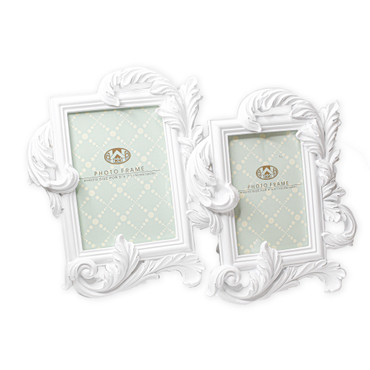 Chalk White Victorian Frames (4x6 or 5x7)