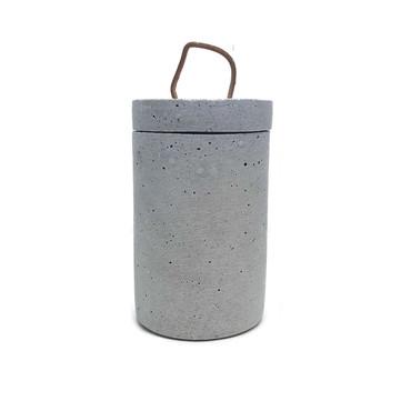 """Adobe Cement Jar w/Lid  (7""""x 4"""")"""