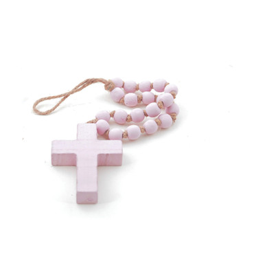 Sm. Pink Blessing Bead