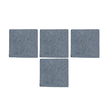 Set/4 Lightweight Cement Coasters
