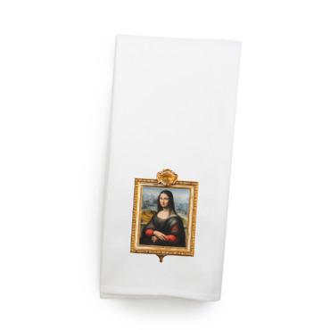 Mona Lisa Towel
