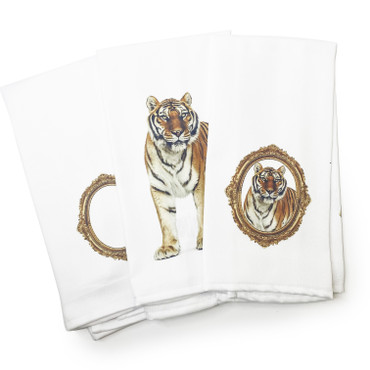 Tiger Renaissance Towels