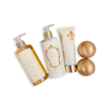 Gold Bath Lotions, Washes and Bombs