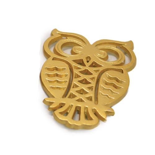 Gold Owl Trivet