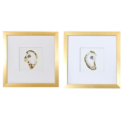 """Gold Oyster 14"""" Left or Right Facing"""