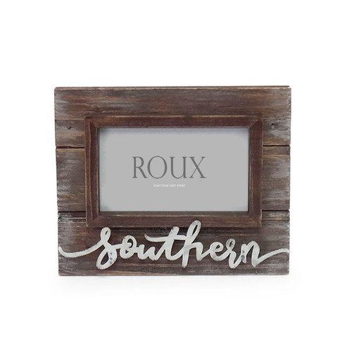 Wooden Frame w/3D Southern
