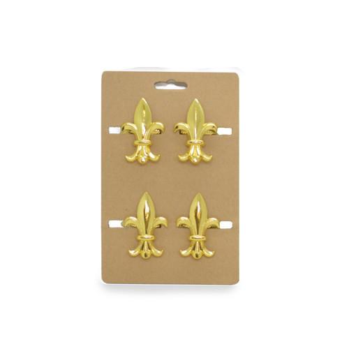 Gold FDL Napkin Rings Set/4