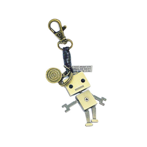 Rugged Robot Keychain