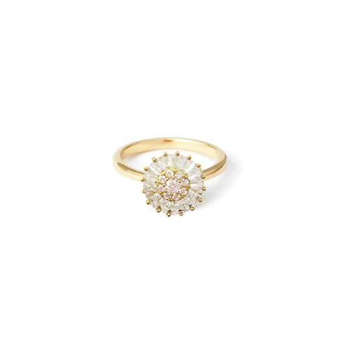 Blush Jewel Burst Ring