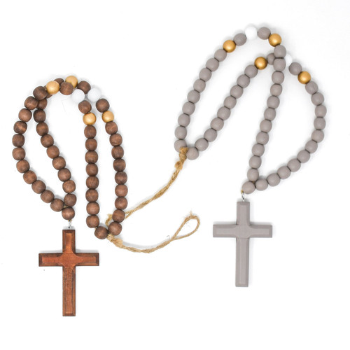 Blessing Beads with Metallic Gold (Two Colors to Choose From)