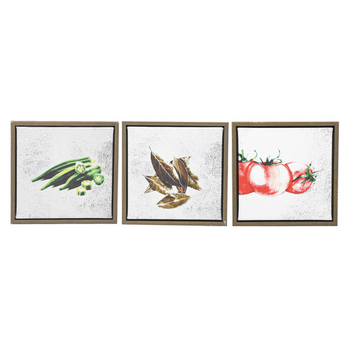 Gumbo Ingredients Wall Decor (Three Styles to Choose From)