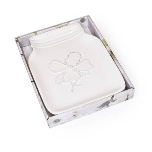 Dogwood Spoon Rest, Boxed