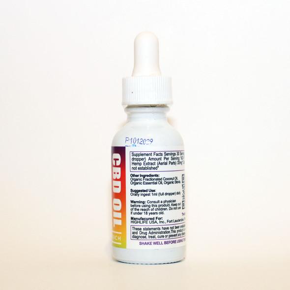 HIGHLIFE Full Spectrum CBD Oil 1000mg Peppermint