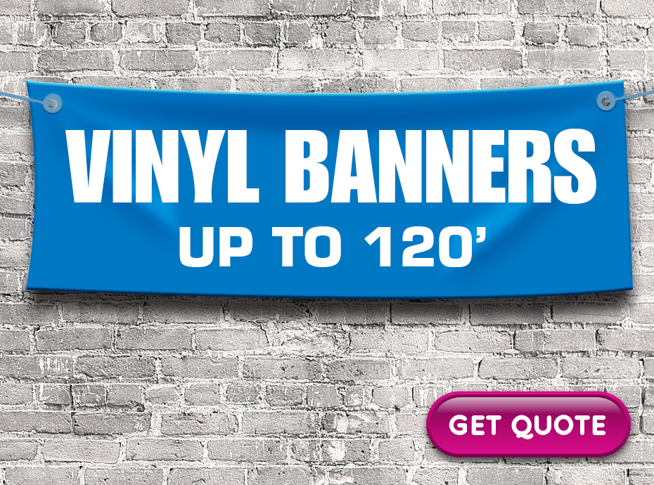 Get a quote on vinyl banners