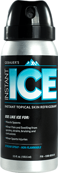 Instant Ice 3.5 oz can - front