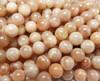8mm Sunstone Smooth Round Beads