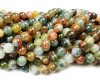 6mm Rainbow phantom crystal round beads