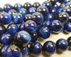 12mm Blue tiger eye smooth round beads