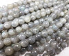 8mm Labradorite faceted round beads