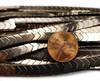 6x3mm Coffee Brown Hematite Shiny V-Shaped Arrow Beads