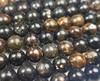 4mm Biotite Mica Smooth Round Beads