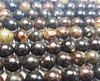 8mm Biotite Mica Smooth Round Beads