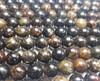 10mm Biotite Mica Smooth Round Beads