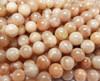 6mm Sunstone Smooth Round Beads