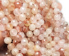 10mm Finely Cut Shiny Pink Faceted Crystal Beads