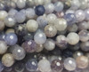 10mm Finely Cut Shiny Iolite Faceted Beads