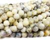 10.7mm Australian White Opal Smooth Round Beads