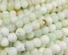 8mm Australian Light Green Opal Smooth Beads