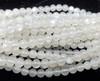 5mm Moonstone Smooth Round Beads