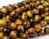 8mm Tiger Eye Round Beads