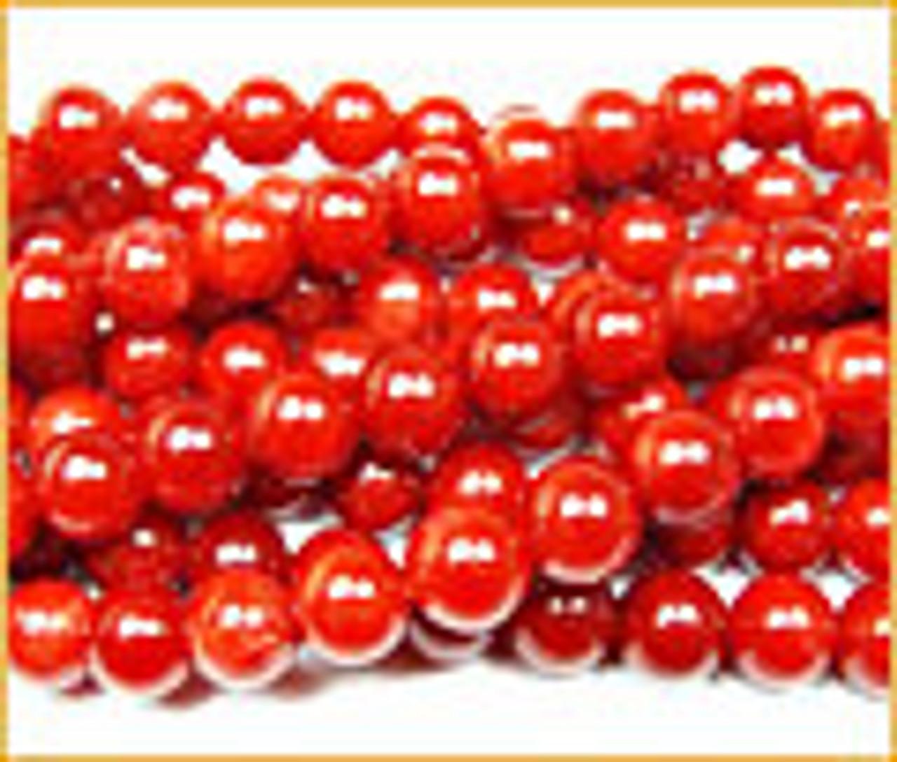 Coral-Red Jade