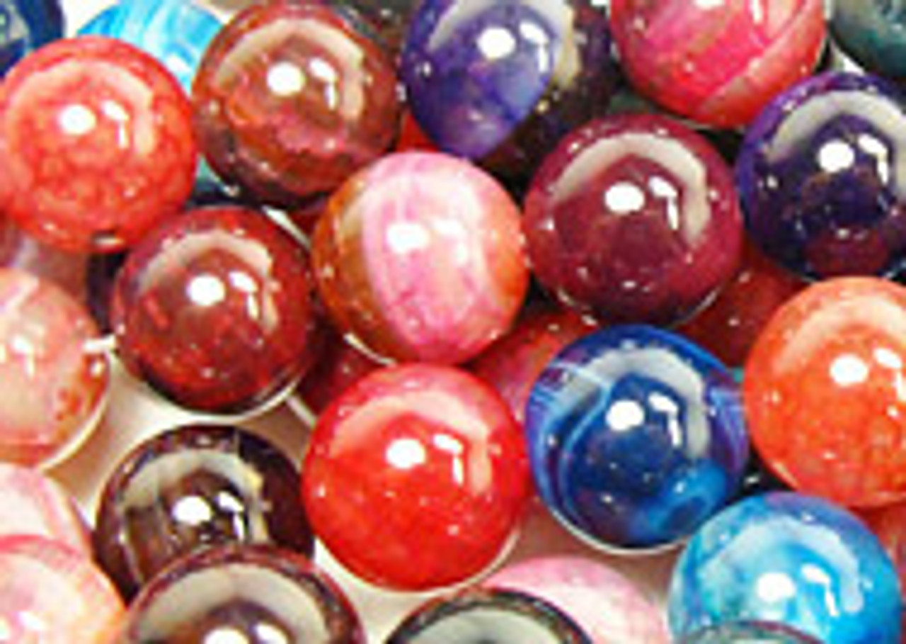 Agate Beads by Color